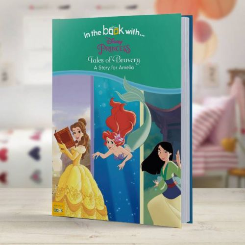 Personalised Disney Princess Tales of Bravery Book